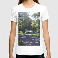 college T-shirts featuring Chapel, Wellesley College by JezRebelle