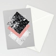 Geometric Textures 1 Stationery Cards