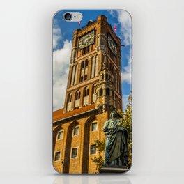Copernicus town iPhone Skin