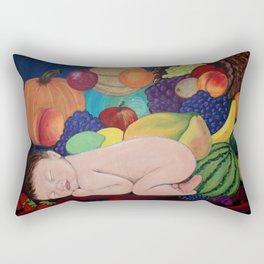 A Child Of Plenty Rectangular Pillow
