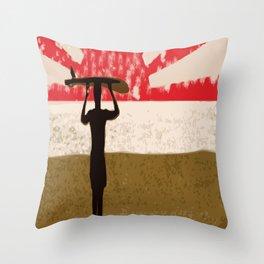 First RoDayOh  Throw Pillow