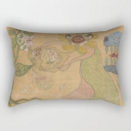 Fantasy Garden Rectangular Pillow