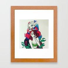 Harley and Ivy Framed Art Print