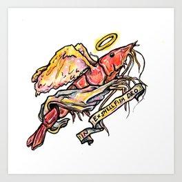 In Ex Shellfish Deo Art Print
