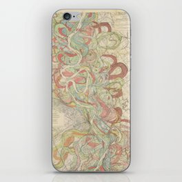 River Cartography iPhone Skin