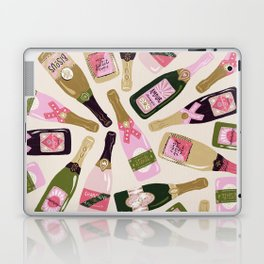 French Champagne Collection – Pink & Green Laptop & iPad Skin