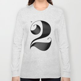 No. 2 Long Sleeve T-shirt