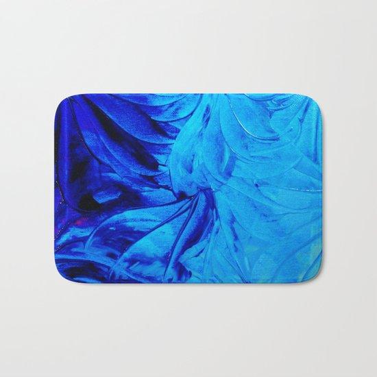 PETAL PINWHEELS - Deep Indigo Blue Royal Blue Turquoise Floral Pattern Swirls Ocean Water Flowers by ebiemporium