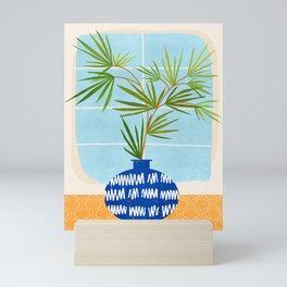Window Seat / Contemporary House Plant Mini Art Print
