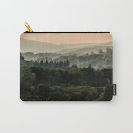 Foggy morning in Lake District Carry-All Pouch