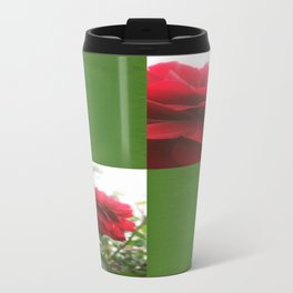 Red Rose with Light 1 Blank Q5F0 Travel Mug