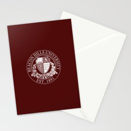 Beacon Hills University Stationery Cards