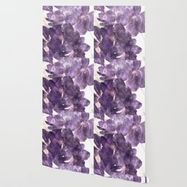Purple Blossoming Wallpaper