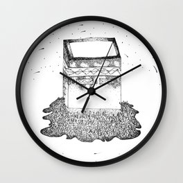 Wehdat Al Nafs Wall Clock