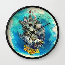 Saturday Morning Wall Clock