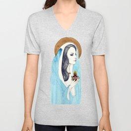 Sacred Heart of Lana Unisex V-Neck