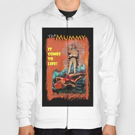 Woman in the red dress meets The Mummy Hoody