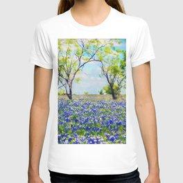 Bluebonnet Texas T-shirt