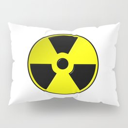 Nuclear Symbol Pillow Sham