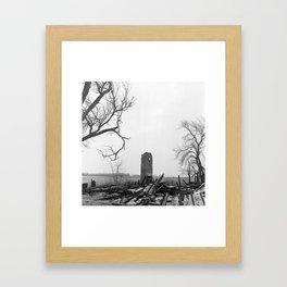 Chimney. Framed Art Print
