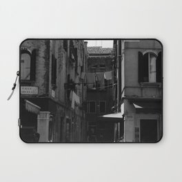 Calle Marcello b&w Laptop Sleeve