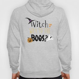 Witch way to the boos? Hoody