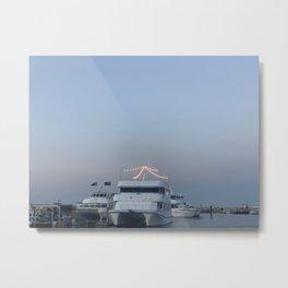 Boats, Nelsons Bay, NSW, Australia Metal Print