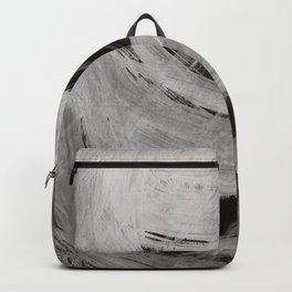 And the light came, Abstract, Black & White Backpack