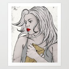 confidential Art Print