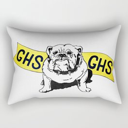 GHS Bulldogs Rectangular Pillow