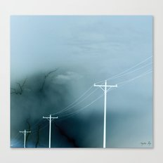Negative Connection Canvas Print