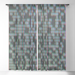 Signal Loss Sheer Curtain
