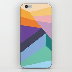 Colorful shapes iPhone & iPod Skin