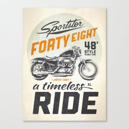 Forty Eight Canvas Print