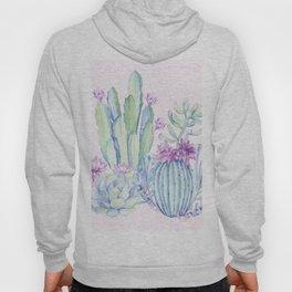 Mixed Cacti Pink #society6 #buyart Hoody