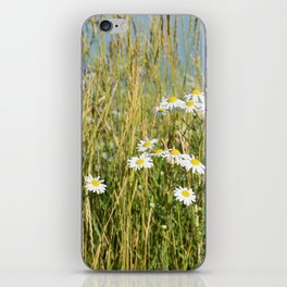 Wildflowers along the lake iPhone Skin