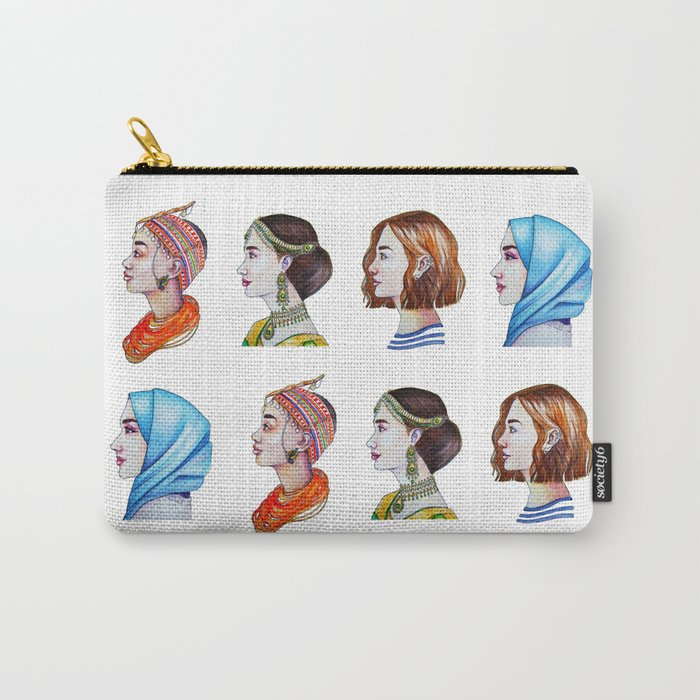 Women for the world Carry-All Pouch