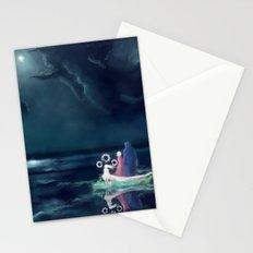 Night III - Moonsail Stationery Cards