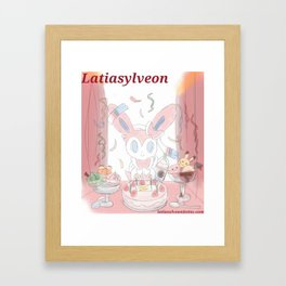 Sylveon's Sweets! Framed Art Print