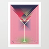 gatsby Art Prints featuring Gatsby by marcus marritt