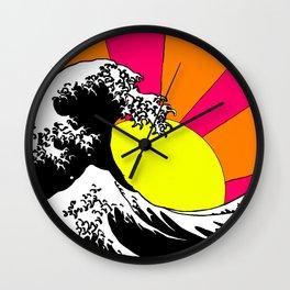 Endless Wave Wall Clock