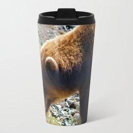 Griz - Wildlife Art Print Travel Mug