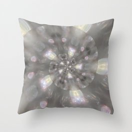 Light Speed - Abstract Photographic Art by Fluid Nature Throw Pillow