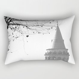 Galata Tower in Istanbul Rectangular Pillow
