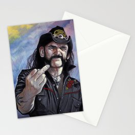 Lemmy Kilmister - Motorhead Stationery Cards