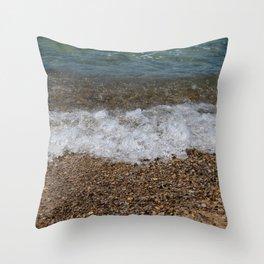 Lake_Michigan Beach, Charlevoix - 4 Throw Pillow