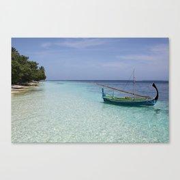 Vilamendhoo, Maldives Canvas Print