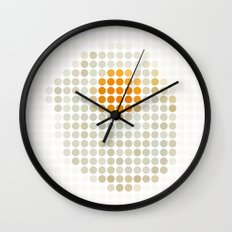 and egg. Wall Clock