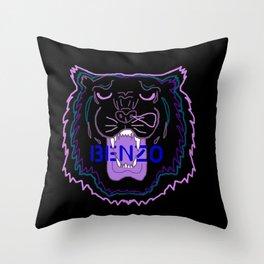 BENZO Throw Pillow