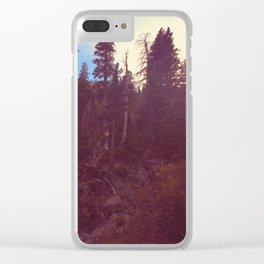 imposing Clear iPhone Case